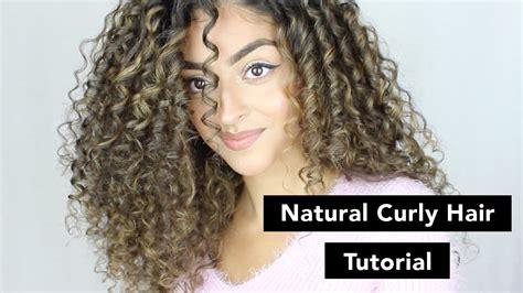 Natural Curly Hair Tutorial