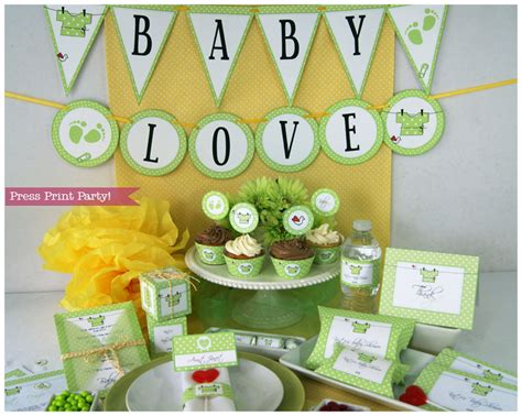 organic baby shower ideas baby shower decorations printables gender neutral green love