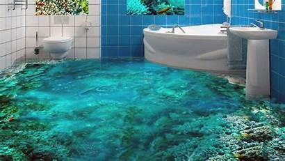 Bathroom Floor 3d Unique Designs