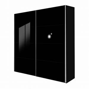 Schwebetürenschrank Nach Maß : schwebet renschrank kick schwarz glas schwarz breite 152 cm ~ Markanthonyermac.com Haus und Dekorationen