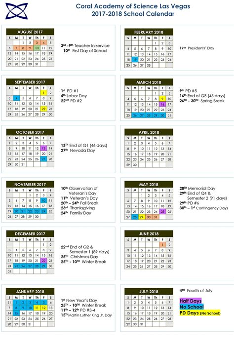 las vegas school calendar qualads