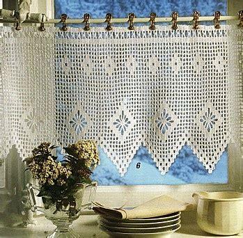 grille d a駻ation cuisine patron de rideau au crochet gratuit 28 images mod 232 le gratuit rideau d 233 co au crochet par mes favoris tricot crochet crochet rideaux