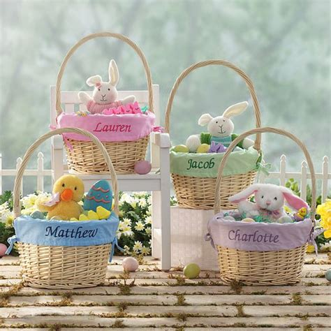 personalized easter baskets ideas time  fun  easter