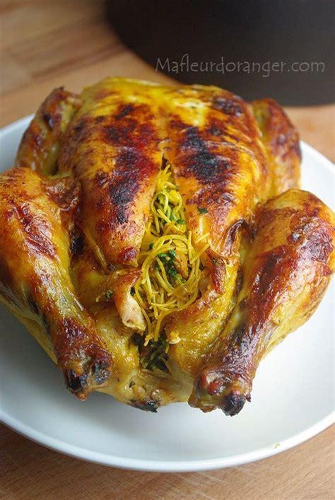 blogs de cuisine marocaine 17 meilleures idées à propos de poulet farci au four sur