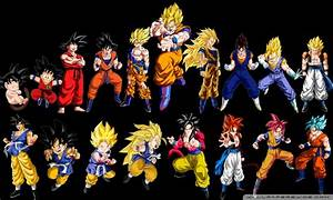 Goku Evolution 4K HD Desktop Wallpaper for • Wide & Ultra ...