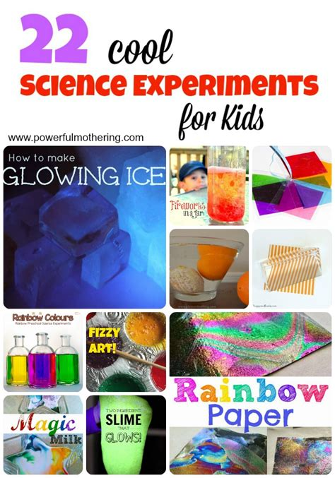 cool science experiments  kids
