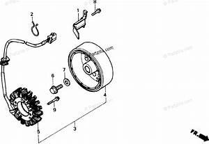 Honda Motorcycle 1988 Oem Parts Diagram For Alternator