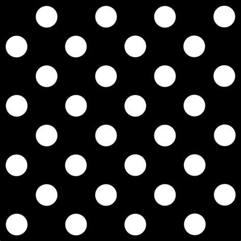 Black And White Polka Dot Background White Polka Dots On Black Background Free Clip