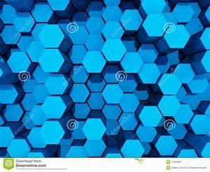 Blue 3d background stock illustration. Illustration of ...