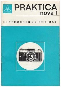 Praktica Nova 1 Camera Instructions