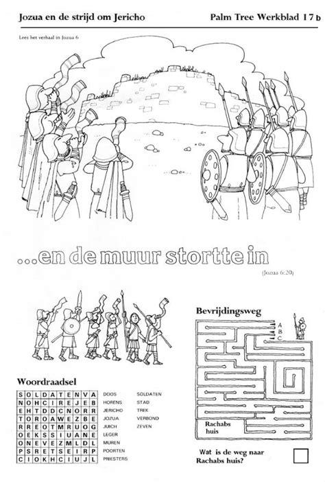 Kleurplaat De Blindgeborene by Gereformeerde Kerk Numansdorp Kindernevendienst