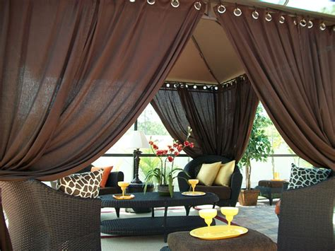 patio drapes outdoor patio pizazz indoor outdoor gazebo drapes curtains price