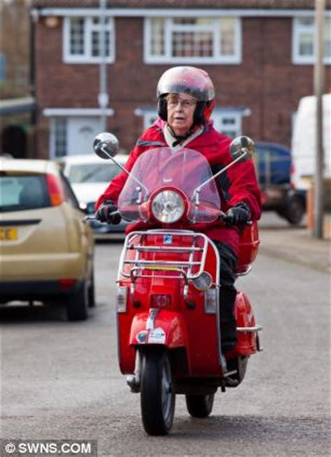 britains oldest mod  refuses  give   scooter