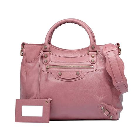 balenciaga pink bags reference guide spotted fashion