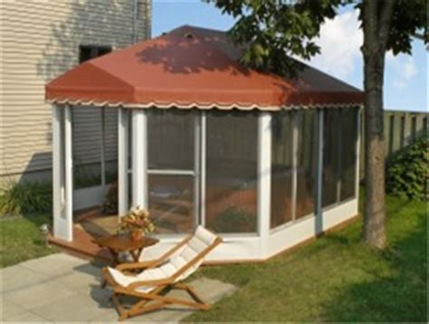 oblong  oval screened patio enclosures  standing