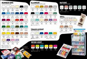 Cernit Color Chart Masa Za Modeliranje Cernit Number One 250g Izberite Barvo