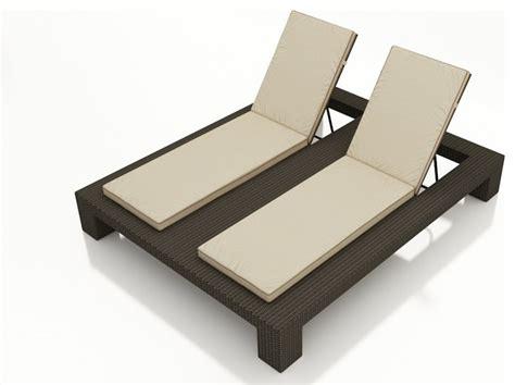 hton wicker chaise lounge modern outdoor
