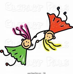 Two Friends Holding Hands Clipart (22+)