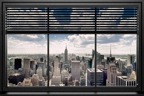 donne canapé convertible poster fenêtre vue sur york