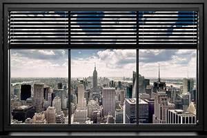 Blick Aus Dem Fenster Poster : poster fen tre vue sur new york ~ Markanthonyermac.com Haus und Dekorationen