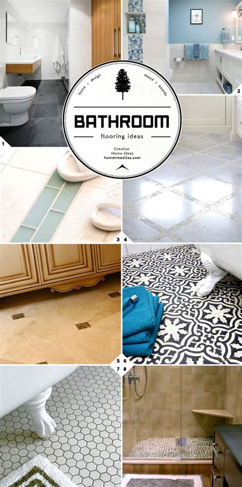 floor materials for bathroom bathroom flooring ideas guide designs and material