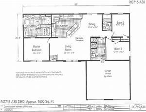 1996 Oakwood Mobile Home Floor Plans