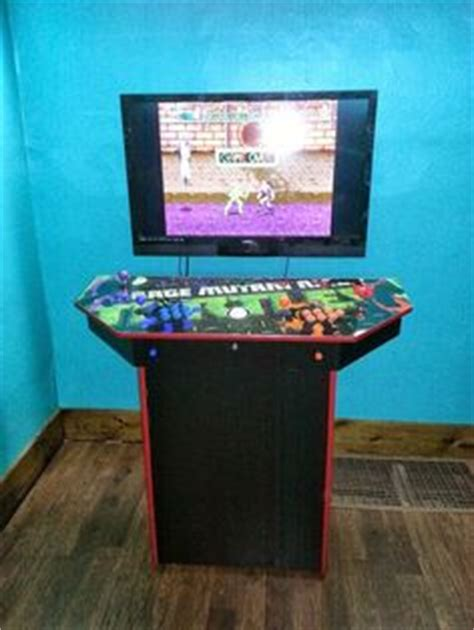 4 Player Arcade Cabinet Build by 1000 Images About Retro Gaming Ideas On