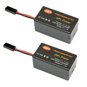 lithium polymer battery  parrot ardrone  upgrade mah    ebay