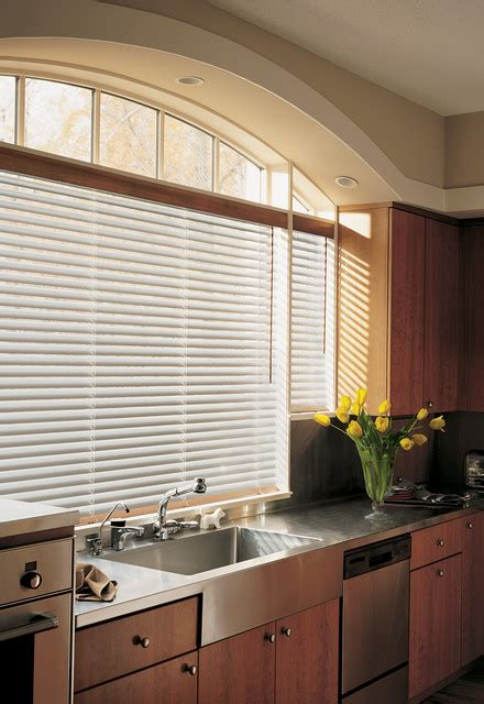 Kitchen Horizontal Blinds by Horizontal Blinds Contemporary Kitchen Detroit By
