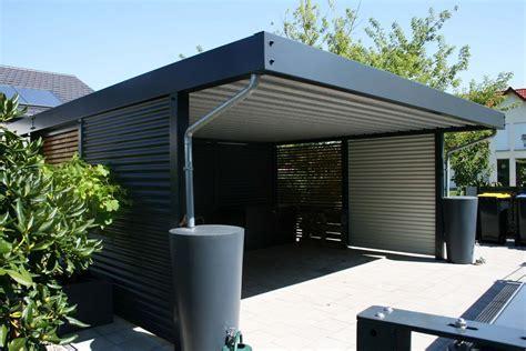 carport aus stahl design metall carport aus stahl holz blech glas individuell frankfurt deutschland metallcarport