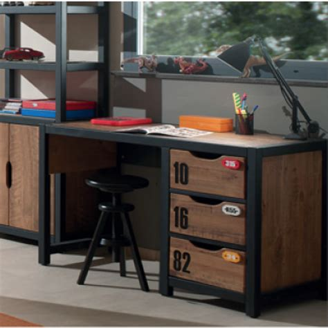 cuisine lit enfant mezzanine avec bureau bureau ado fille