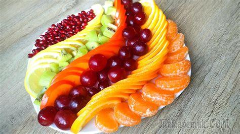 Как красиво нарезать и подать фрукты лайфхакер