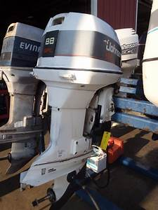Used 1993 Johnson J88mslete 88hp Special 2 Stroke Outboard