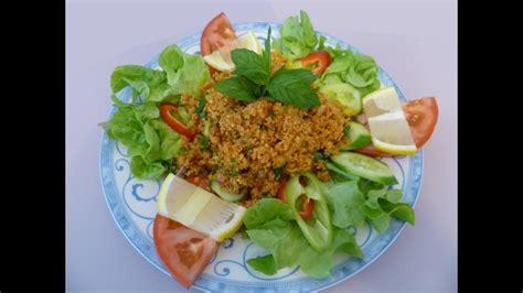 rezept kisir ahmet kocht tuerkisch kochen folge