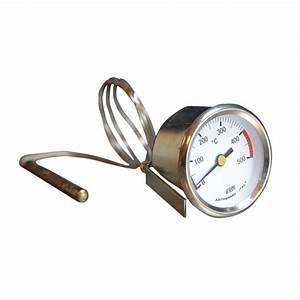 Thermometre Four A Bois : thermom tre 0 500 c capillaire ~ Dailycaller-alerts.com Idées de Décoration