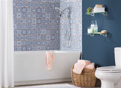 shower tile ideas    splash bob vila