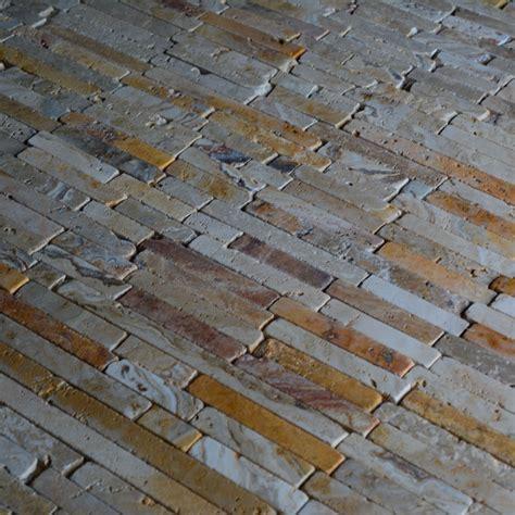 scabos travertine mosaic tile scabos travertine random brick pattern