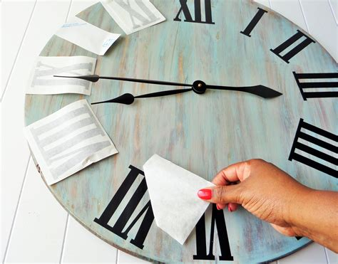 pdf diy wooden wall clock diy rustic wall clock be my guest with