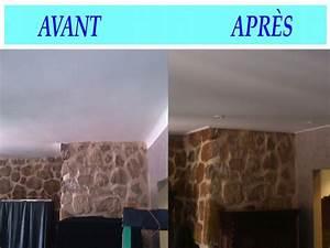 delicieux peinture raccord mur plafond 11 renover With raccord peinture mur plafond