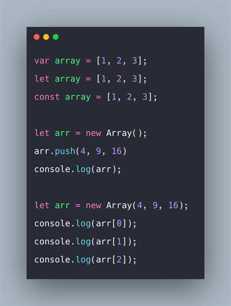 Javascript Array: How to Create, Read, Edit Arrays in ...