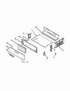 Oven And Broiler Parts Diagram  U0026 Parts List For Model