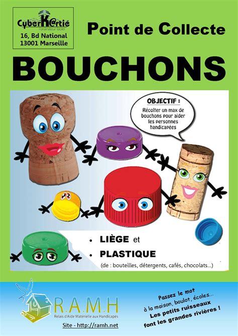 Collecte Bouchons Plastiques Fauteuil Roulant by Point De Collecte De Bouchons