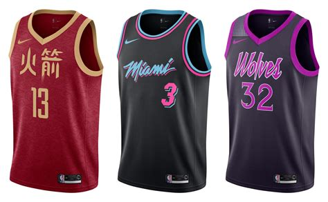 Do you think football clubs. A look at every team's NBA 'City' uniforms this season