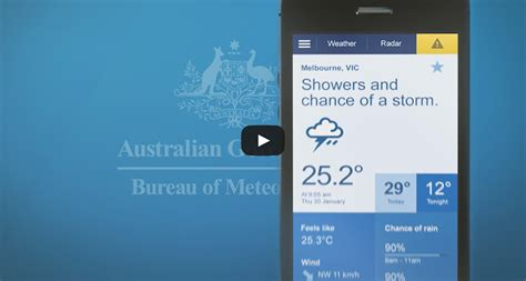 bureau of metrology bureau of meteorology mobile weather website