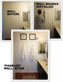 Diy Bathroom Remodel Ideas Diy Quot Wood Paneling Quot This Is What I Want For Upstairs Hallway Just Wider Panels Home Sweet