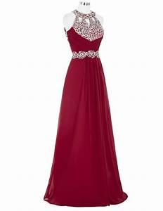 marvelous burgundy bridesmaid dresseselegant long beaded With burgundy wedding dresses gowns new