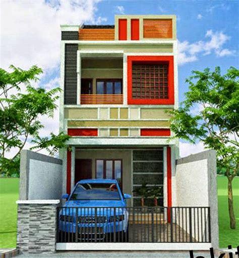 desain rumah ukuran   lantai