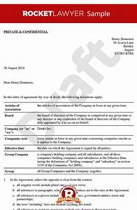 LOA Sample  NonExecutive Director Letter of Appointment Template