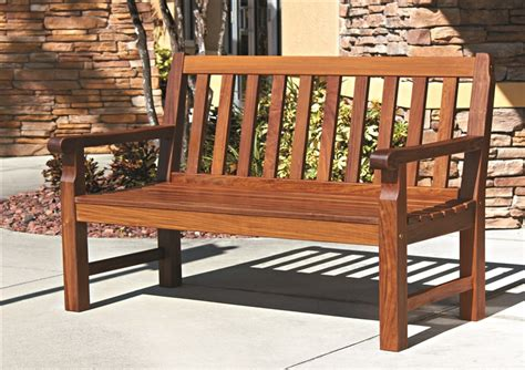 Wooden Outdoor Furniture by Wood Outdoor Furniture From Boonedocks Trading Company