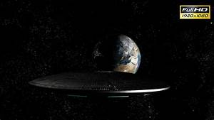 UFO Spaceship Heading Towards Earth by blohslv   VideoHive